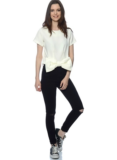 Compania Fantastica Bluz Beyaz